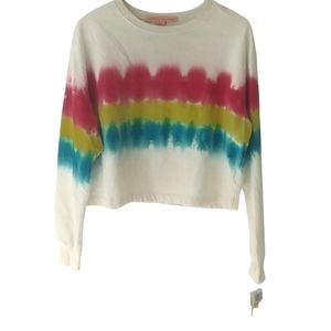 Rebellious One Tie Dye Pink Pullover